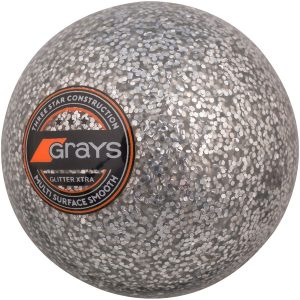 Grays Hockey Ball Glitter Xtra (Silver)
