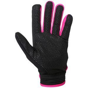Grays G500 Gel Glove Pair (Black/Fluorescent Pink)