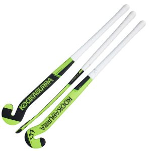 Kookaburra Divert Outdoor Hockey Stick (Green/Black)