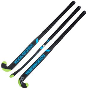 Kookaburra Team Alpha Outdoor Hockey Stick (Black/Blue)