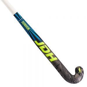 JDH Junior Hockey Stick (Grey/Blue/Volt)