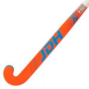 JDH X1 Junior Hockey Stick (Grey/Orange/Blue)