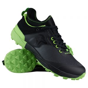 Kookaburra Team Senior Hockey Shoe (Black/Green)