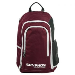Gryphon Frugal Fred Hockey Backpack- Burgundy