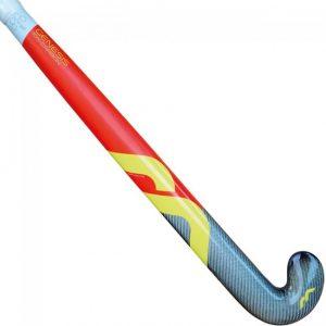 Mercian Genesis 2 Junior Hockey Stick- Red/Black/Yellow