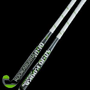 Kookaburra Graffiti Wooden Junior Hockey Stick- Silver