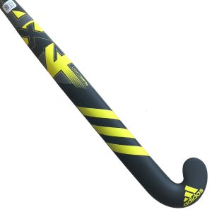 Adidas LX24 Compo 6 Junior Hockey Stick- Black/Yellow