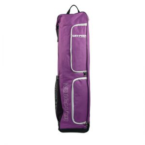 Gryphon Middle Mike Hockey Kitbag- Purple