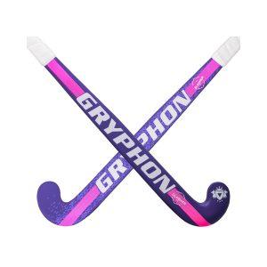Gryphon Slasher G18 Junior Hockey Stick- Purple/Pink