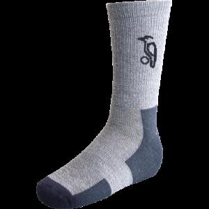 Kookaburra Airtech Cricket Socks (Grey)- Twin Pack