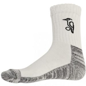 Kookaburra Club Cricket Socks (White)