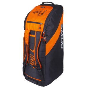 Grays Flair 300 Hockey Goalkeeper Duffle (Black/Orange)