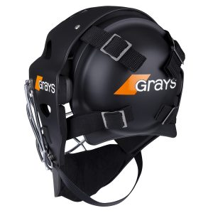 Grays G600 Hockey Goalkeeper Helmet (Black/Chrome)
