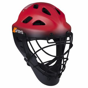 Grays G600 Hockey Goalkeeper Helmet (Red/Black)