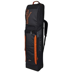 Grays Gamma Hockey Kitbag (Black/Orange)