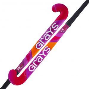 Grays GX1000 Ultrabow Outdoor Junior Stick 2021 (Fluo Pink)