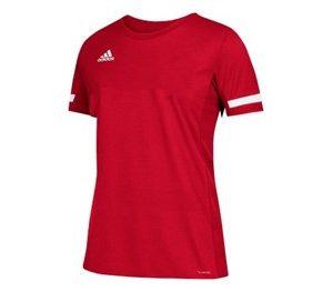 Newbury & Thatcham Hockey Club-Adidas Ladies Red Training Shirt