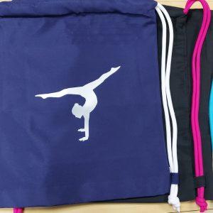 Gym bag – Gymnast handstand Personalised