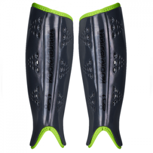 Kookaburra Viper Hockey Shinguards Black/Green