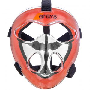 Grays Hockey Junior Face Mask Orange