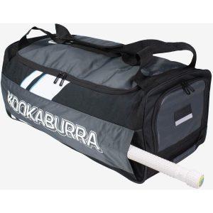Kookaburra Pro 8.0 Wheelie Cricket Bag Black