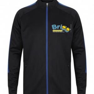 Brigg Tennis Full Zip Blue/Navy Jacket – Adult