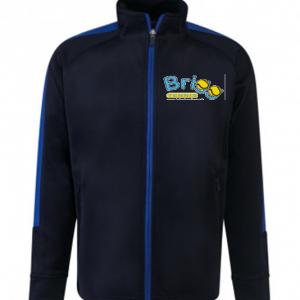 Brig Tennis Full Zip Blue/Navy Jacket – Child